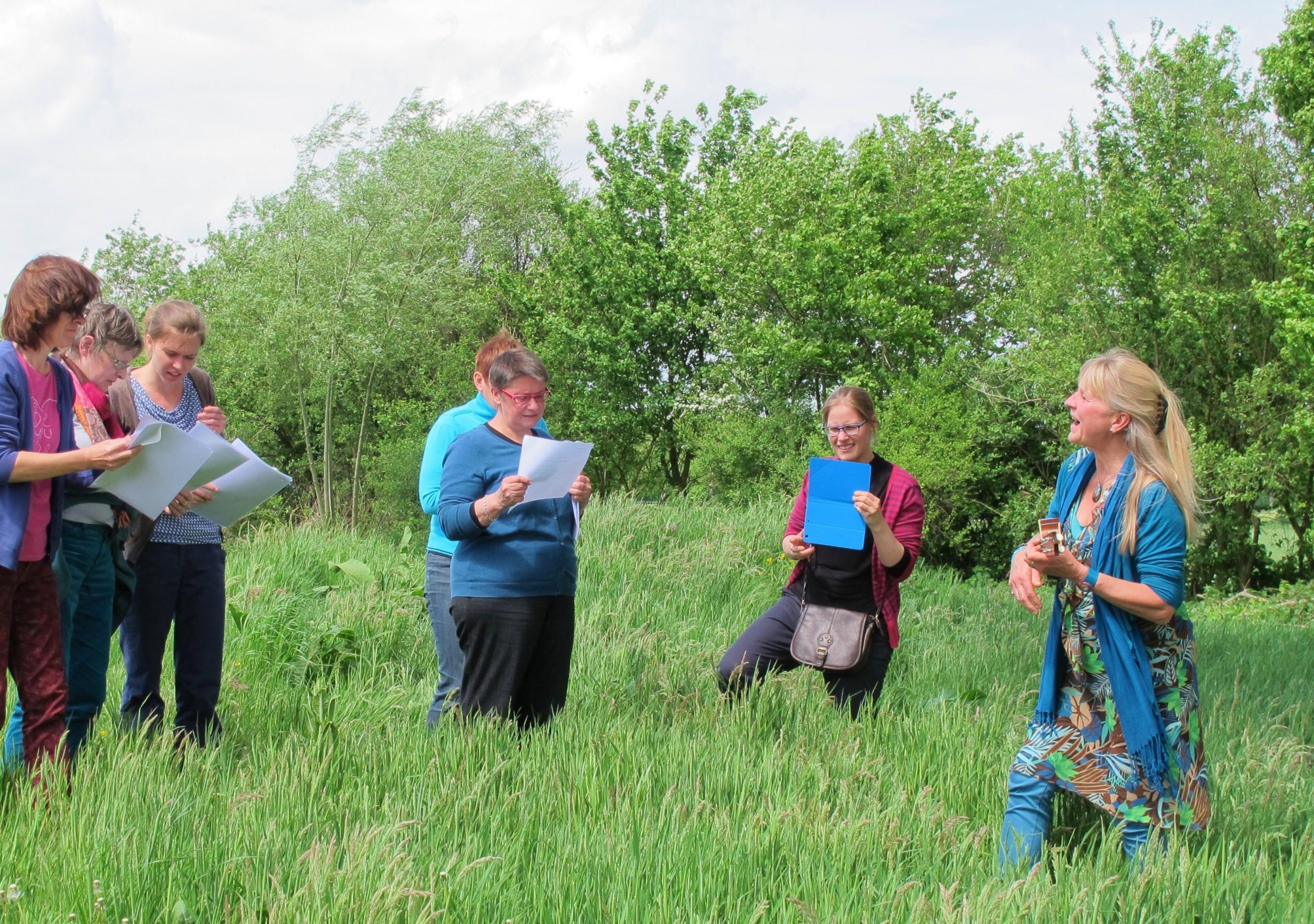 Zingen in de natuur, mei 2015