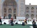 Hilde Frateur on Registan Samarqand