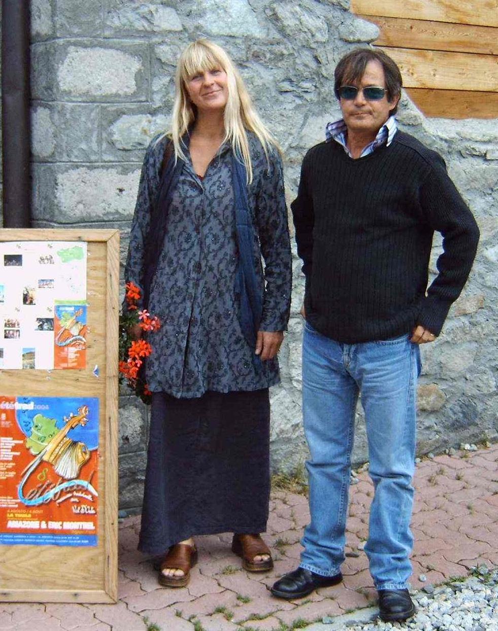 0004 Amazone en Eric Montbel Italia Aosta H en eric 5BIJ AFFICHE det (1)